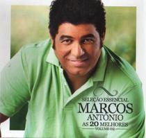 CD Selecao Essencial - Marcos Antonio - As 20 Melhores 02 - Diamond