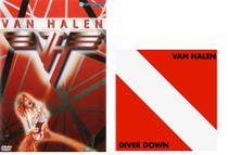 CD Van Halen - Diver Down  + DVD Van Halen - Warner