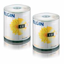 CD Virgem Gravável com logo CD-R 700mb/80min 52x Elgin 200un -