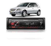 Celta Radio Som Automotivo Pioneer Mvh 98ub Preto 1 Din - 4988028362736