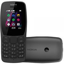 """Celular 110 1,8"""" Dual Chip Câmera VGA 32MB Preto - Nokia -"""