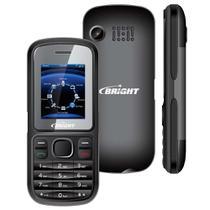 Celular 2 Chip Desbloqueado Bright One Preto -