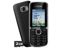 Celular 3G Nokia C2-01 Desbloqueado TIM - Câmera 3.2MP Bluetooth MP3 Player Cartão 2GB