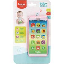 Celular Baby Phone Rosa Musical - Buba -