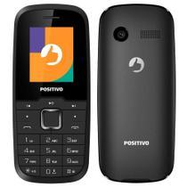 Celular Barato Telefone Simples Positivo P26 Dual Chip Rádio FM Câmera Ideal Para Idosos -