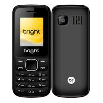 Celular Barra Dual Chip Câmera MP3 Bluetooth Preto Bright -
