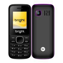 Celular Barra Dual Chip Câmera MP3 Bluetooth Roxo Bright -