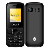 Celular Barra Dual Chip Câmera MP3 e Bluetooth 405 Preto Bright -
