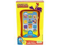 Celular de Brinquedo Galinha Pintadinha - Meu Primeiro Baby Phone Emite Som Musical Yes Toys