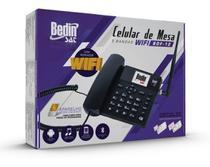 Celular de mesa bdf-12 5 bandas 3g/wifi  radio fm bdf12 - BEDINSAT