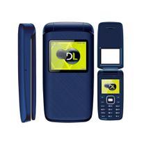 Celular DL Dual Sim YC335 Flip Azul -
