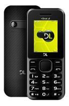 Celular Dl Yc-210 Preto Dual Sim Radio Fm Camera+nota Fiscal -