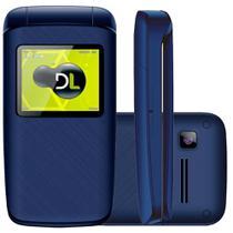 Celular dl yc-335 formato flip azul - Jbsystem