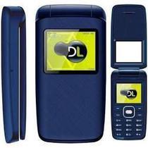 Celular dl yc335 flip dual chip idoso lacrado -