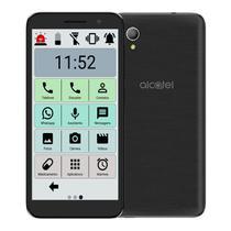 Celular Do Idoso Alcatel Ícones Grandes Sos 16gb Tela 5' -