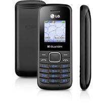 Celular Dual Chip LG B220 Desbloqueado 32MB 2G Rádio FM - Preto -