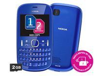 Celular Dual Chip Nokia Asha 200 Desbloqueado TIM - Câmera 2MP Bluetooth MP3 Player Teclado Qwerty