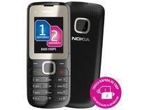 Celular Dual Chip Nokia C2-00 Desbloqueado TIM - Câmera Rádio FM Music Player e Bluetooth 2.1