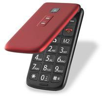 Celular Flip Vita Dual Chip Mp3 Vermelho Multilaser - P9021 -
