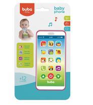 Celular Infantil Baby Phone Rosa 6842 - Buba -