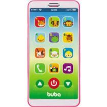 Celular Infantil Baby Phone Rosa - Buba Baby -