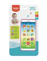 Celular Infantil Baby Phone - Rosa - Buba Toys -