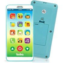 Celular Infantil Buba Baby Phone Com Sons E Musicas Azul -