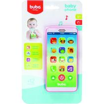 Celular Infantil Buba Baby Rosa - 6842 Buba -