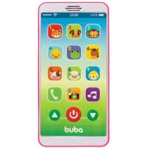 Celular Infantil Telefone Baby Phone Rosa - Buba -