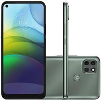 "Celular Motorola Moto G9 Power Verde Pacífico 128GB Tela 6.8"" 4GB RAM Câmera Tripla 64MP + 2MP + 2MP -"