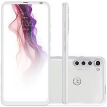 Celular Motorola Moto One Fusion Plus Branco 128GB Tela 6.5 Cam 64MP 8MP 5MP 2MP -
