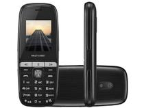 Celular Multilaser 2 Chips Rádio FM Bluetooth - MP3 Player Desbl.