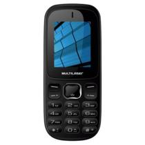 Celular Multilaser Up P9017 Preto 3g, Dual Chip, Câmera 0.3 Mp, Bluetooth, Rádio Fm, Mp3/mp4, Desbloqueado