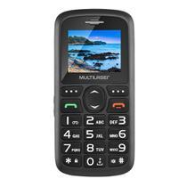 "Celular Multilaser Vita P9048, Dual Chip, 1.8"", USB, Bluetooth - Preto -"