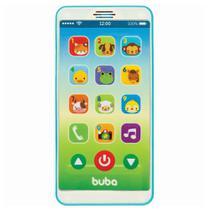 Celular Musical Baby Phone  Azul +12 Meses Buba -