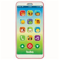 Celular Musical Baby Phone Rosa +12 Meses Buba -