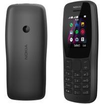 """Celular Nokia 110 Dual Sim Mp3 Rádio Fm Tela 1.77"""" - Preto -"""