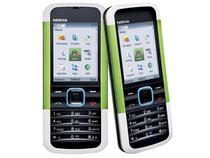 Celular Nokia 5000 Verde - Desbloqueado Oi - Câmera 1.3MP MP3 Player Bluetooth