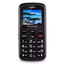 Celular Para Idoso Vita 3 Dual Chip Fm Mp3 Bluetooth Câmera S.O.S - Multilaser
