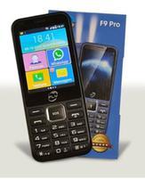 celular para idosos Fly F9 Pro Preto Dual Chip Rádio Fm -