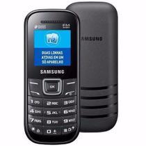 Celular Para Idosos - Samsung Keystone 2 1207 - Desbloqueado - FM - Antena Rural Dual SIM. (PRETO) -