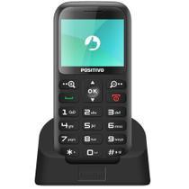 Celular Positivo P65 Dual Chip Tela 2.3 Bluetooth com Rádio FM -