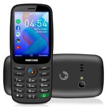 Celular Positivo P70s Dual Chip Bluetooth 2.8 Pol 256MB Ram KaiOS Whats App -