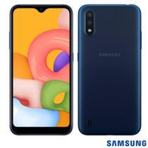 Celular Samsung Galaxy A01 32gb 2gb Ram 13mp/2mp Azul -