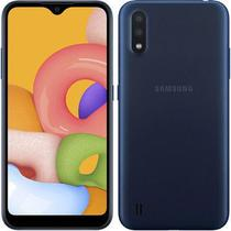 Celular Samsung Galaxy A01 Core  Dual CHIP  16GB  Tela  HD+ 5.3 Preto - 9K Shop Eletronico