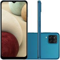 Celular Samsung Galaxy A12 Azul 64GB Tela 6.5 4GB RAM Camera 48MP 5MP 2MP 2MP -