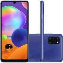 Celular Samsung Galaxy A31 Azul 128GB Tela 6.4 4GB RAM Camera 48MP 8MP 5MP 5MP -