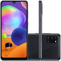 Celular Samsung Galaxy A31 Preto 128GB Tela 6.4 4GB RAM Camera 48MP 8MP 5MP 5MP -