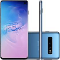 Celular Samsung Galaxy S10 Azul 128GB Tela 6.1 8GB RAM Cam Tripla 12MP 16MP 12MP -