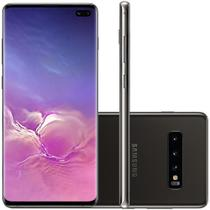 Celular Samsung Galaxy S10 Plus Preto 512GB Tela 6.4 8GB RAM Cam 16MP 12MP 12MP -